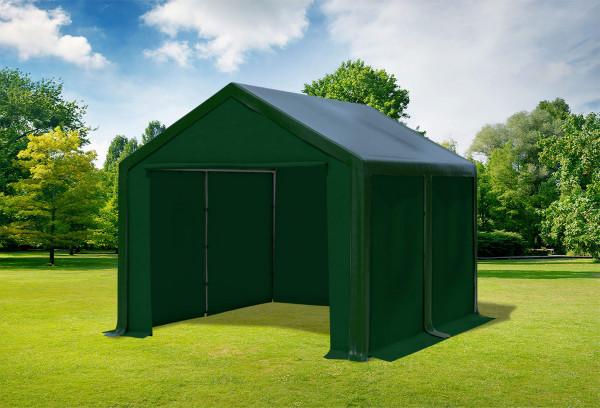 3x4 m Partyzelt, PVC grün