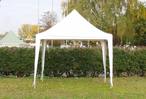 3x3 m Dachplane Arabica PVC inkl. Zubehör, 3 Farben