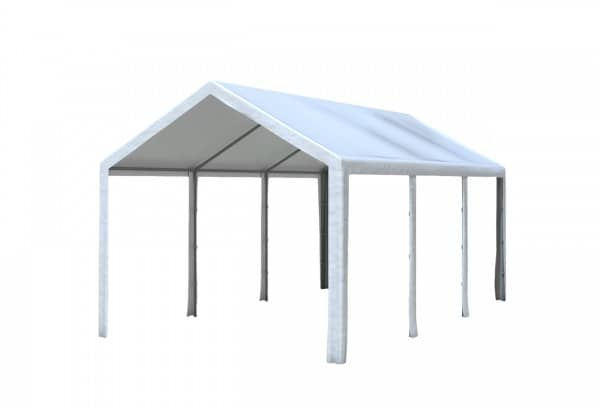 3x6 m Dachplane PE inkl. Zubehör, 4 Farben