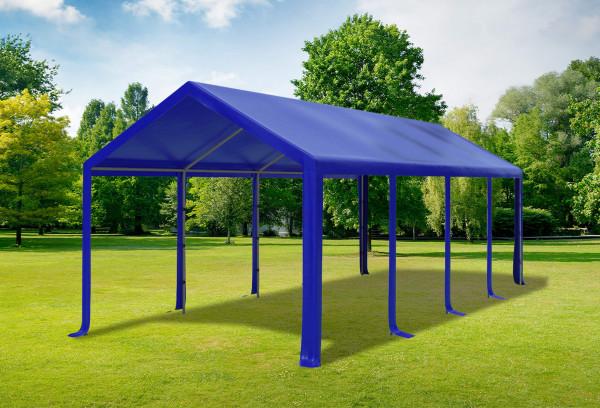Stabilezelte Partyzelt Festzelt 3x8m Modular Pro PVC wasserdicht blau 1438230