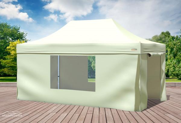 3x4,5 m Faltpavillon, beige
