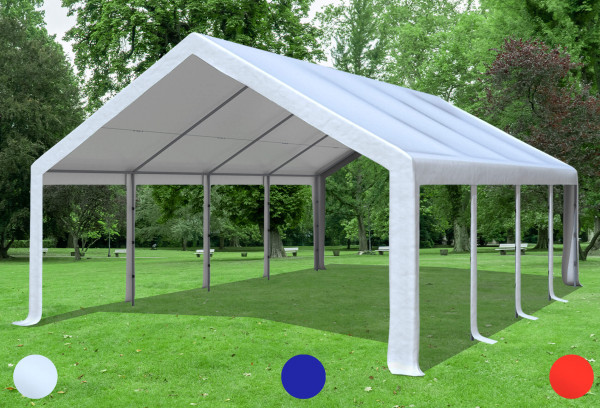 5x8 m Dachplane PVC inkl. Zubehör, 3 Farben
