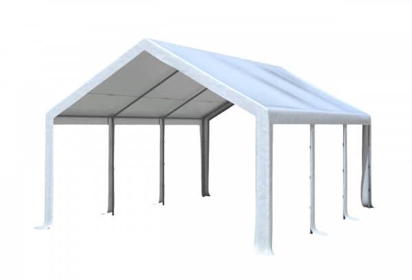4x6 m Dachplane PVC inkl. Zubehör, 7 Farben