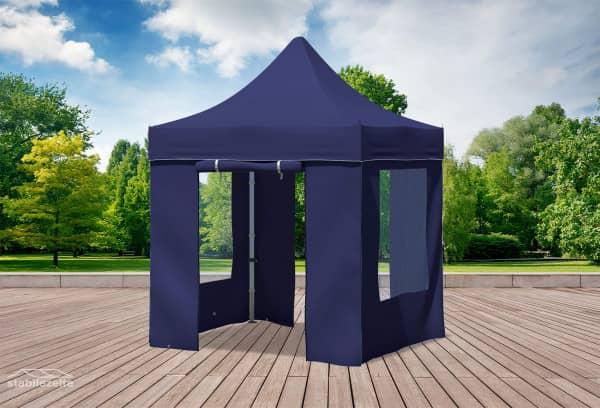 2x2 m Faltpavillon, blau