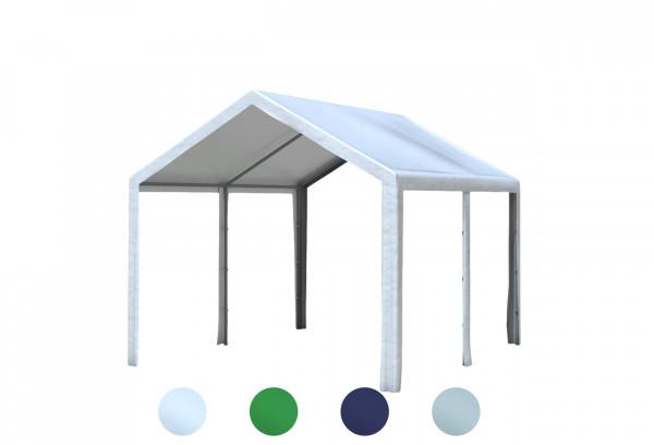 3x4 m Dachplane PE inkl. Zubehör, 4 Farben