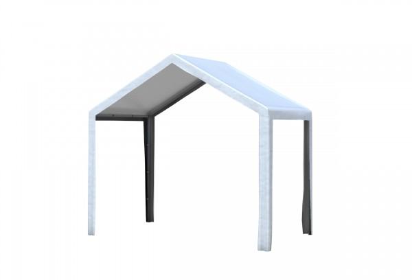 3x2 m Dachplane PVC weiß inkl. Zubehör