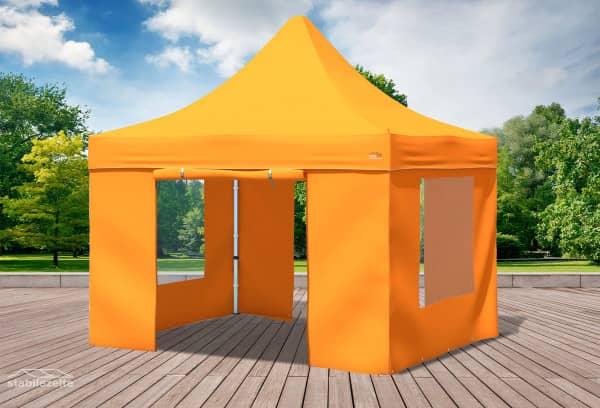 3x3 m Faltpavillon, orange