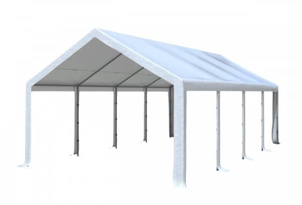 4x8 m Dachplane PVC inkl. Zubehör, 7 Farben