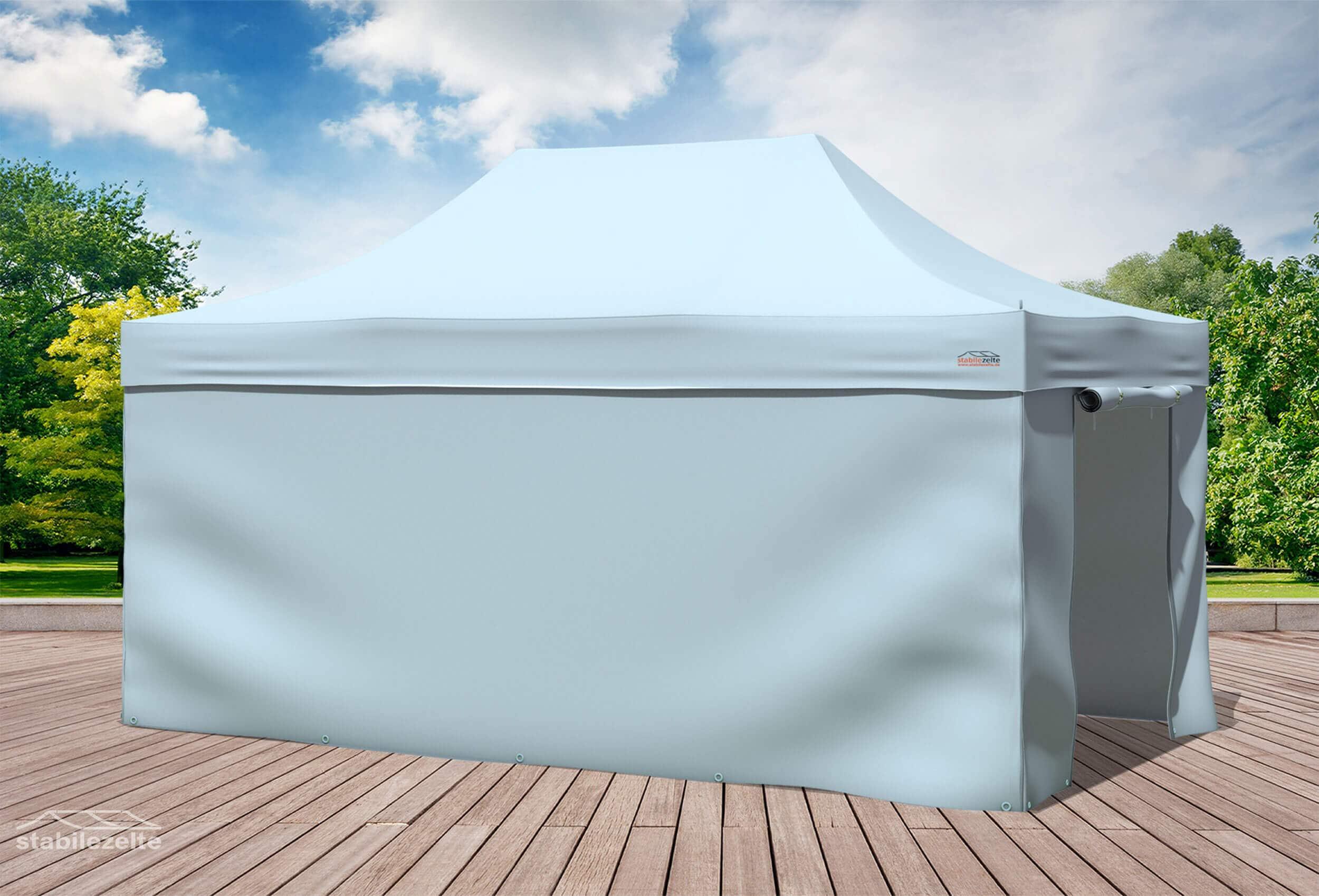 3x4 5 m faltpavillon grau professional plus serie faltpavillons. Black Bedroom Furniture Sets. Home Design Ideas