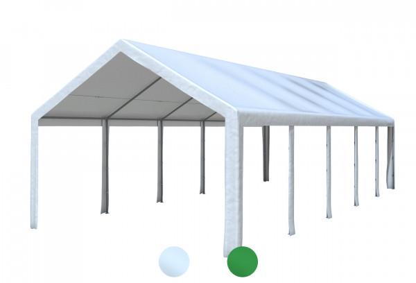 4x10 m Dachplane PE inkl. Zubehör, 2 Farben