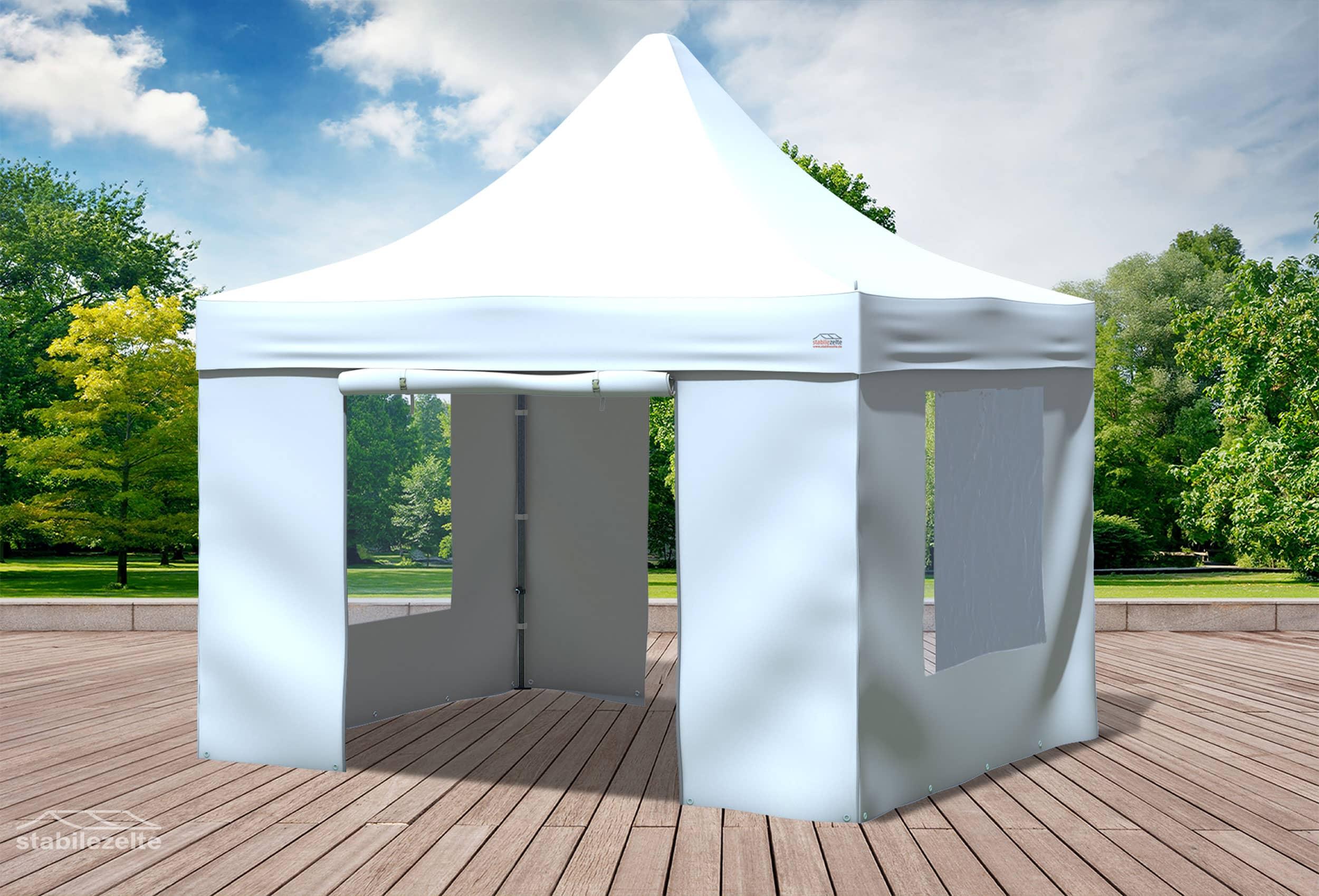 3x3 m faltpavillon wei premium serie faltpavillons. Black Bedroom Furniture Sets. Home Design Ideas