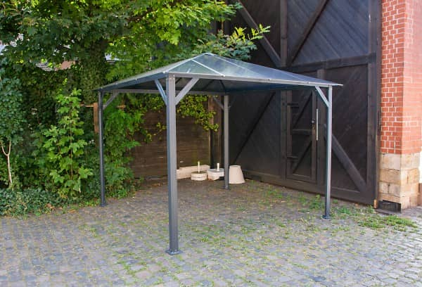 3x3 m Hardtop Pavillon Romance