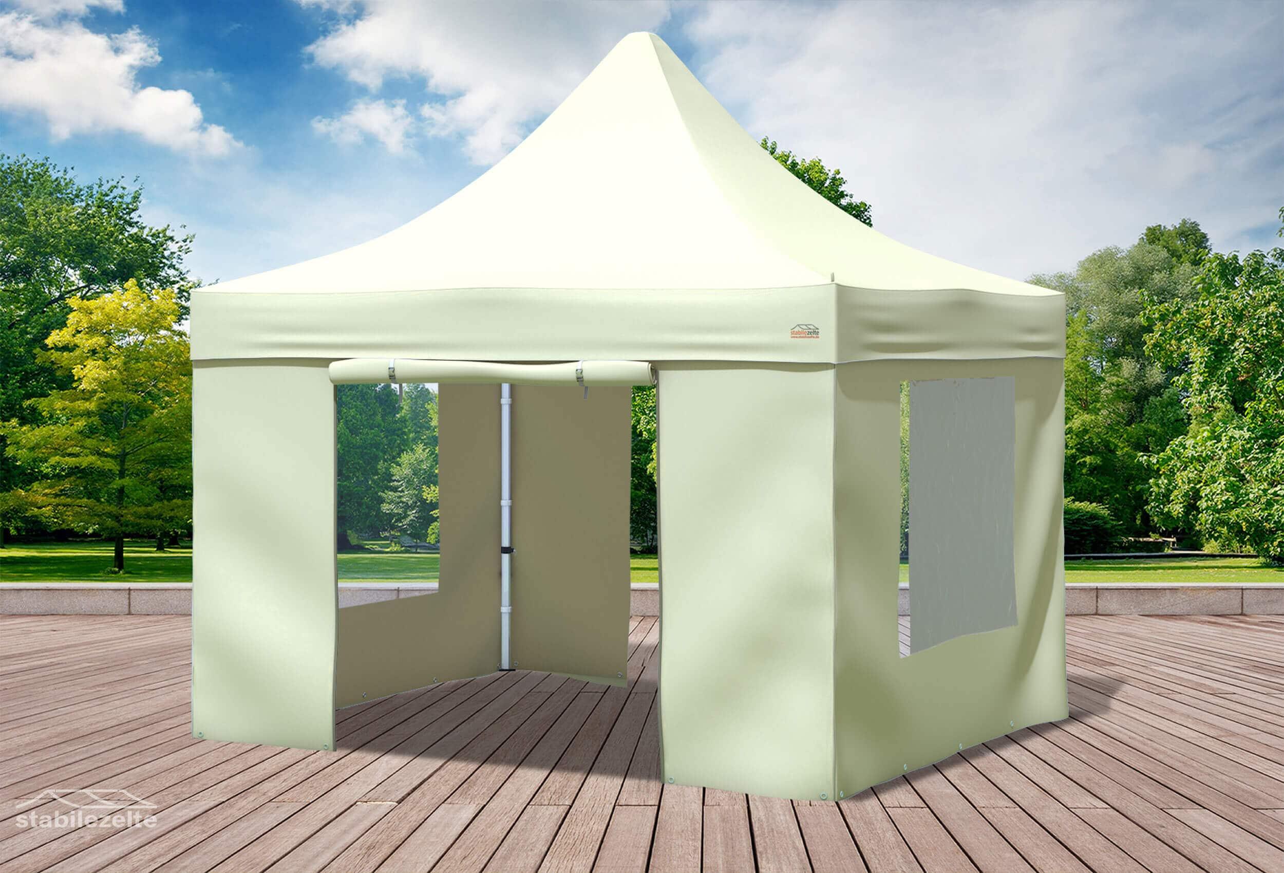 3x3 m faltpavillon beige professional serie faltpavillons. Black Bedroom Furniture Sets. Home Design Ideas