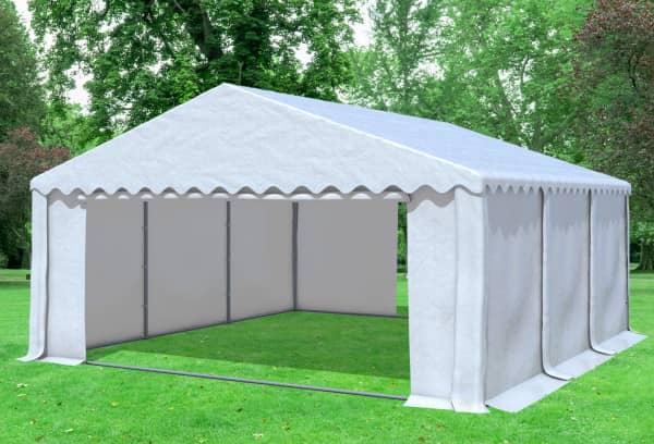 5x6 m Partyzelt, PVC weiß