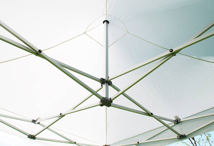 3x3 m faltpavillon wei professional plus serie faltpavillons. Black Bedroom Furniture Sets. Home Design Ideas
