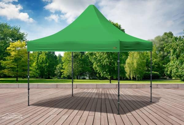 3x3 m Faltpavillon, grün