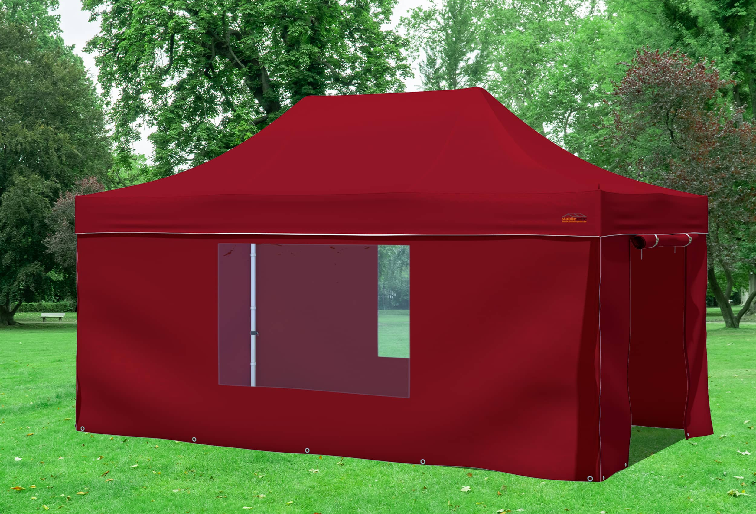 3x4 5 m faltpavillon bordeaux professional serie faltpavillons. Black Bedroom Furniture Sets. Home Design Ideas