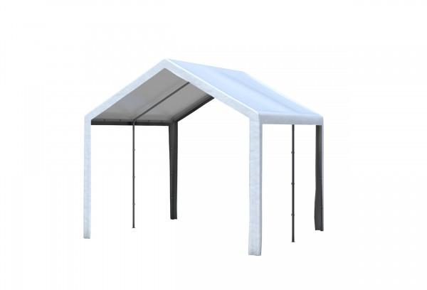 3x3 m Dachplane PVC weiß inkl. Zubehör