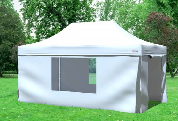 3x4,5 m Faltpavillon, weiß
